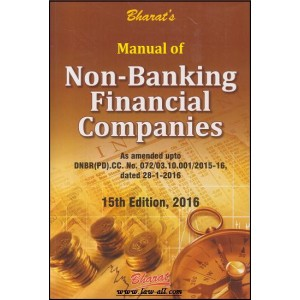 Bharat's Manual of Non-Banking Financial Companies (NBFC) by Ravi & Mahesh Puliani